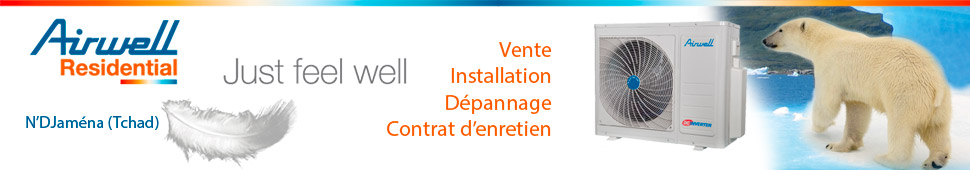 Contactez AIRWELL CLIMA TCHAD