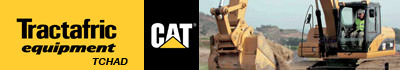 Se rendre sur le site de CAT TRACTAFRIC EQUIPMENT TCHAD